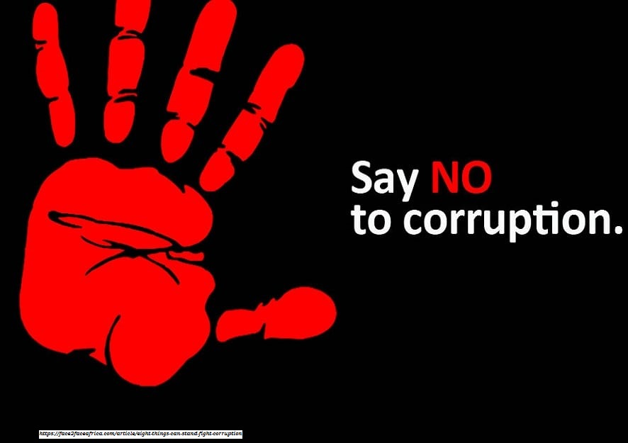 corruption is the root cause of all evils and corruption is the mother of all evils in our society. Corruption Elimination Strategy