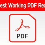 Working pdf reader